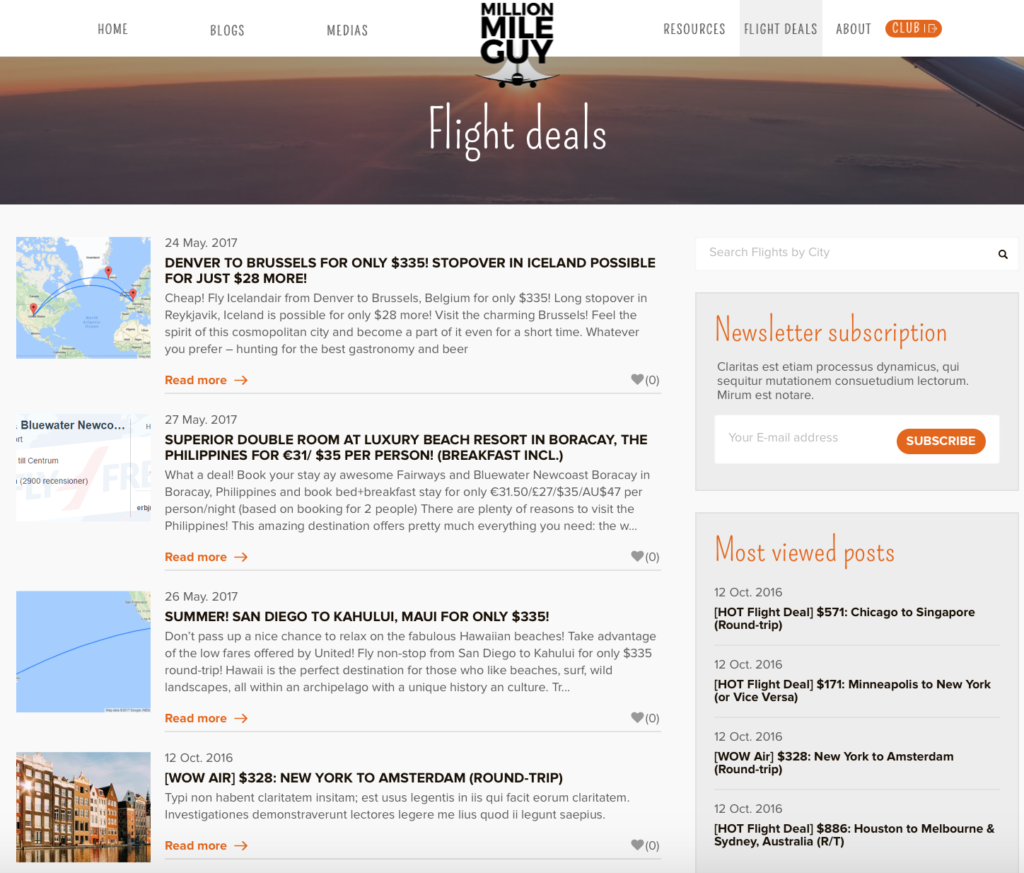 The 15 Best Websites For Finding Cheap Flights And Travel Million Mile Guy
