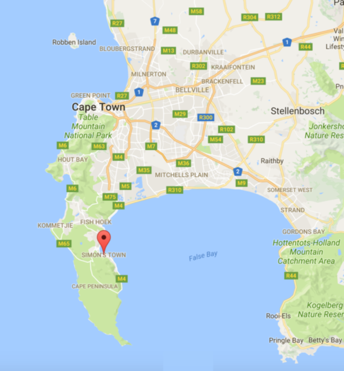 Simon's-Town-South-Africa-map