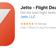 Jetto:  New Flight App for Low Fares