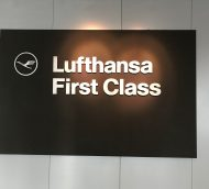 Lufthansa First Class Lounge Frankfurt Review