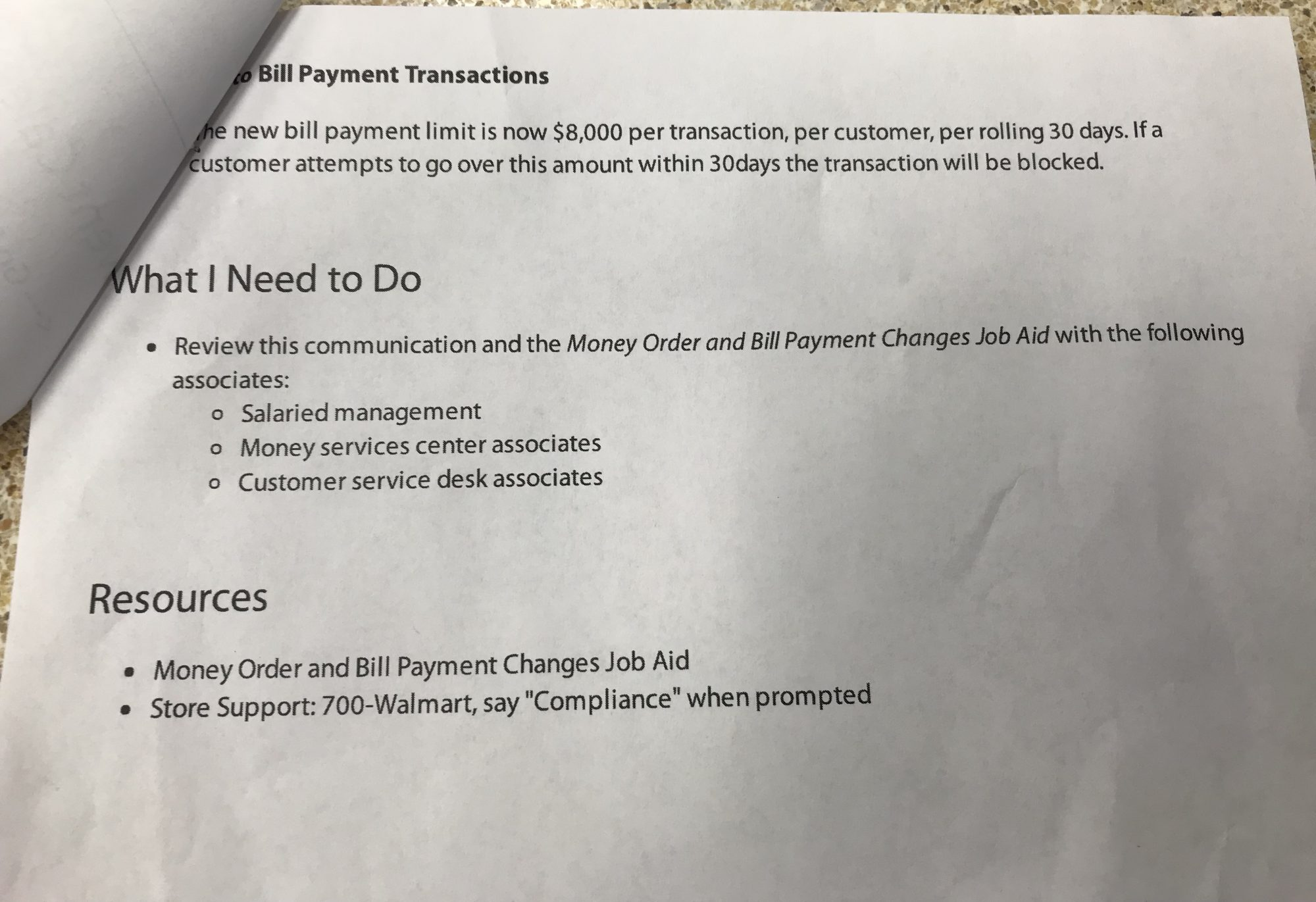 Walmart-money-order-policy