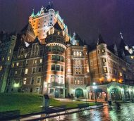 Just booked, Quebec City!
