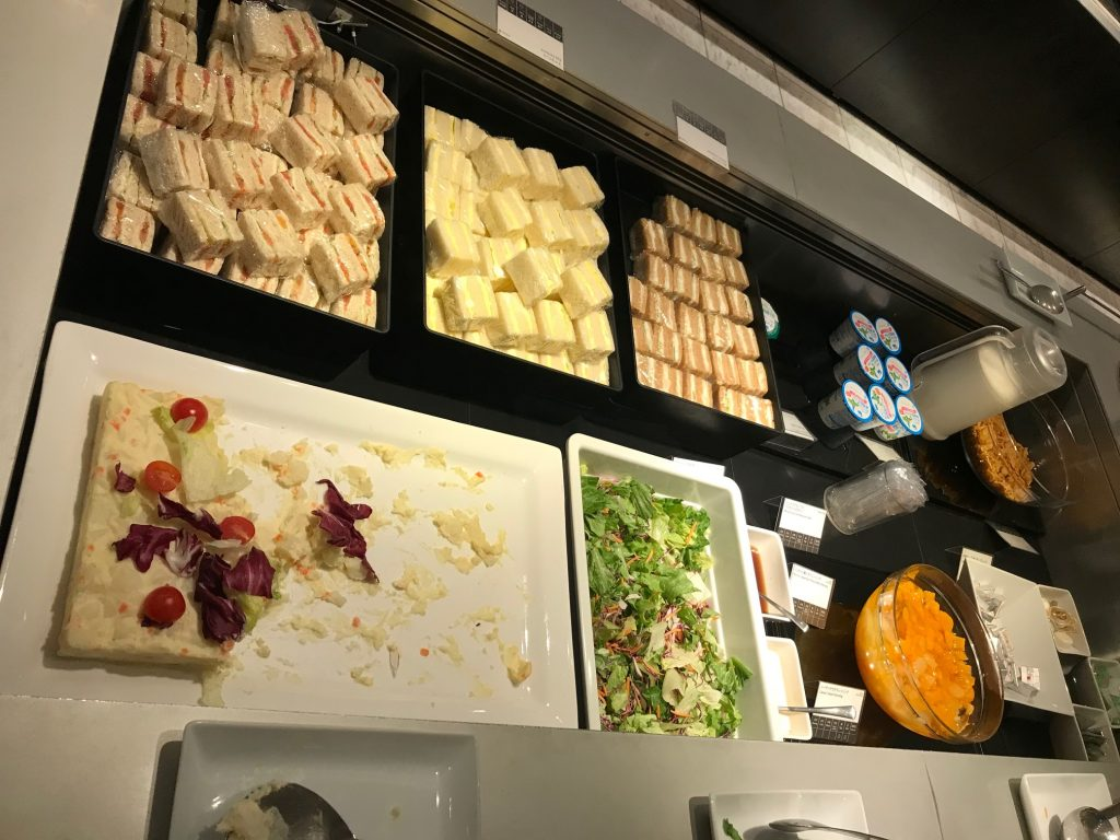 ANA-business-class-lounge-food-Narita-airport