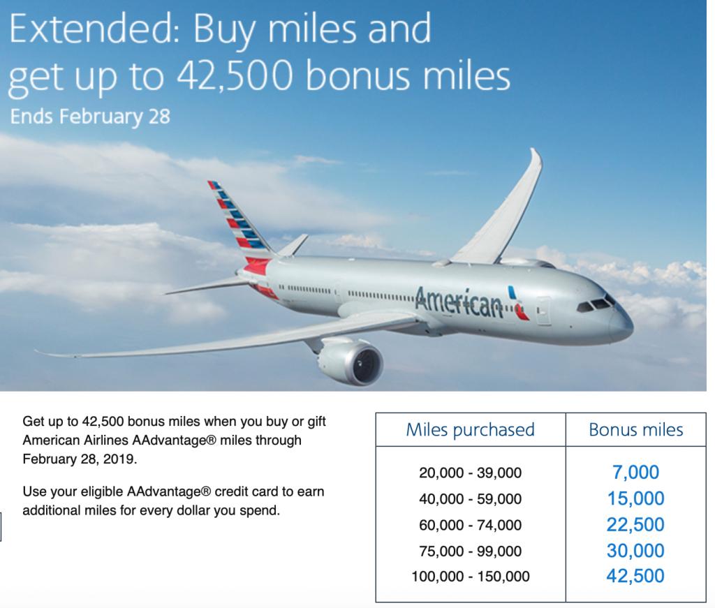 American-airlines-buy-miles-bonus