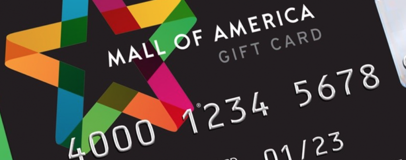 Mall of America Changing Gift Card Purchases