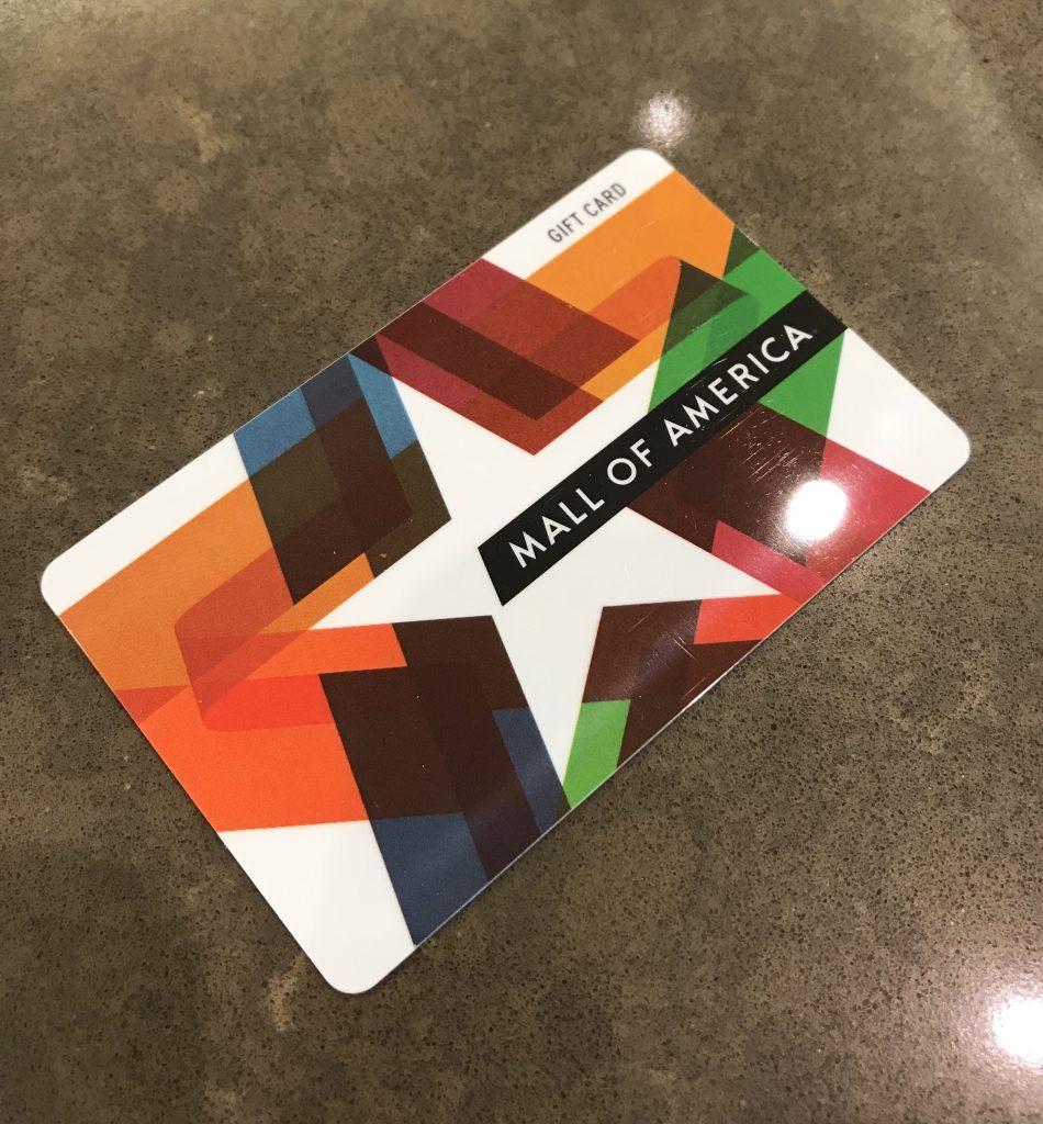 MoA gift card
