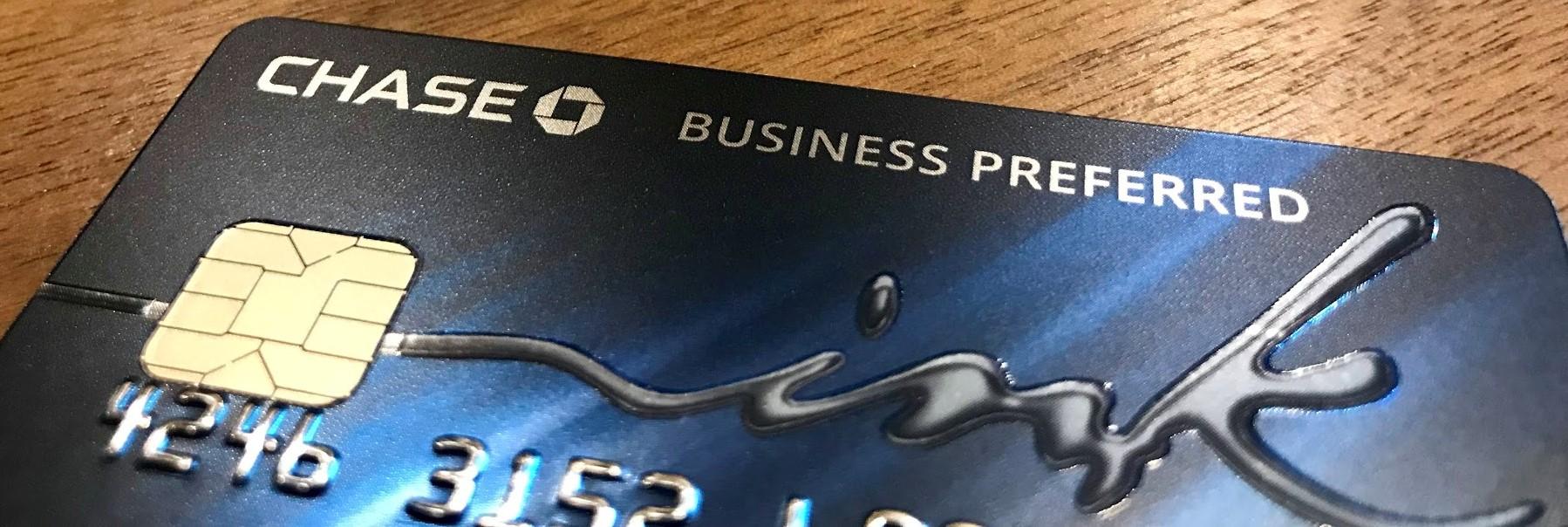 chase ink business preferred 100k ultimate rewards on