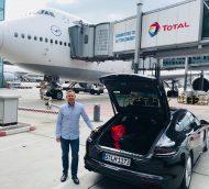 LufthansaFirst Class 747-8 Review:  Chicago to Frankfurt